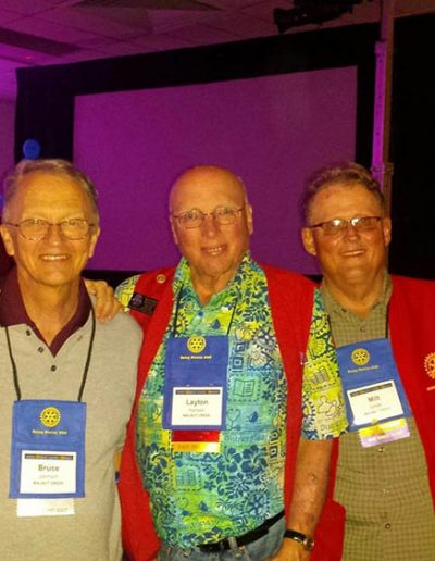 Rotary Club Presidents at District Conference